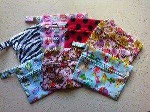mini wet bags