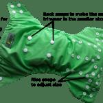 dinky pocket nappy
