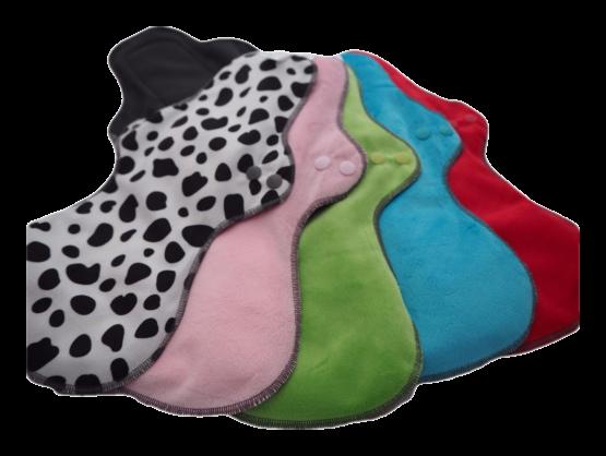 Large minky and bamboo sanitary pad