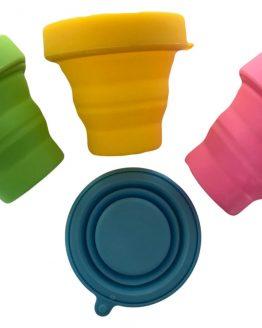 Microwave menstrual cup steriliser