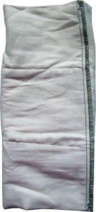 Fold the nappy in three